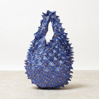 Small Dot Petit bag Color No.1862(スカイブルー*イエローDot)