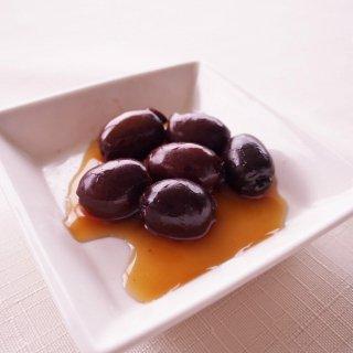 小豆島産有機オリーブの赤ワイン漬け