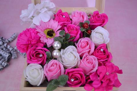 お花の宝石箱 シャボンフラワー