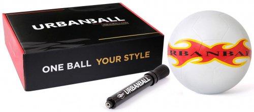 【送料無料】 URBANBALL WHITEFIRE  フリースタイル用ボール -ミニポンプ付き、ボックス入