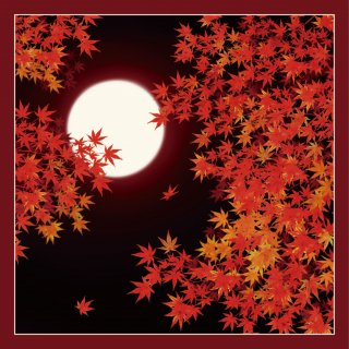 大判風呂敷 日本の秋