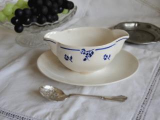 ディゴワン=サルグミンヌ 青いバラ模様のソーシエール