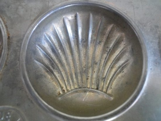 アンティーク ケーキ焼き型(マドレーヌ型)