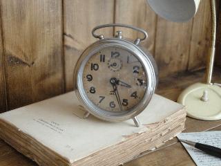 フランスアンティーク JAZ目覚まし時計