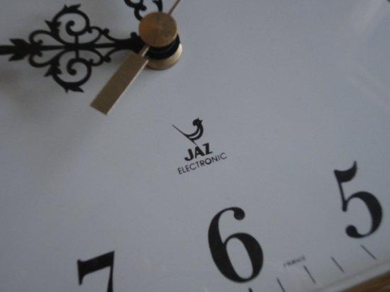 フランスJAZ社 ヴィンテージ壁掛け時計(曜日付)