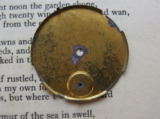 アンティーク 懐中時計の文字盤セット 4枚セット