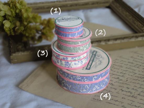 フランスヴィンテージ 紙製の薬箱 (1)