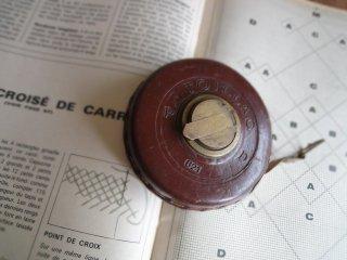 フランス アンティークメジャー(巻尺)