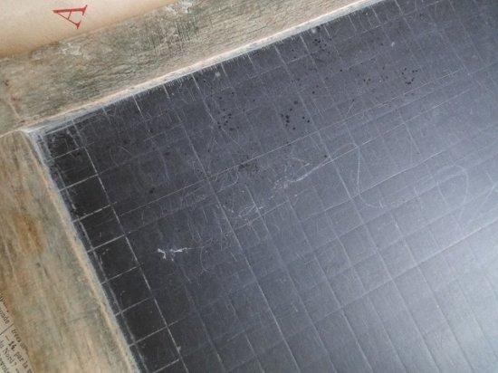 フランスアンティーク 天然石の黒板(L)