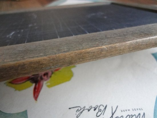 フランスアンティーク 天然石の黒板(S)