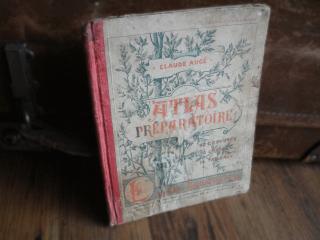 フランスの古書 地理本(ATLAS)