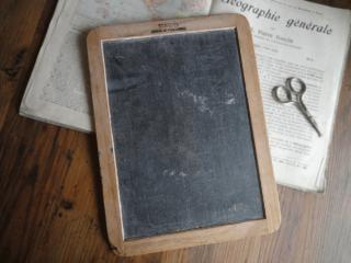 ポルトガル製 天然石のアンティーク黒板(L)