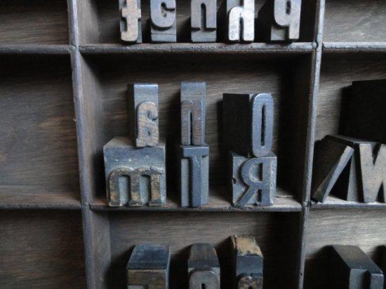 イギリスアンティーク プリンターブロックセット(2)