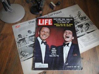ヴィンテージ洋雑誌(LIFE 1963'S)