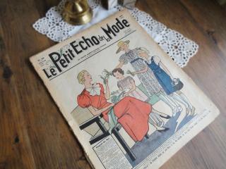 フランスのファッション新聞 (Le Petit Echo de la Mode 1936年3月号)