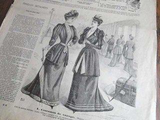 フランスのファッション新聞 (Le Petit Echo de la Mode 1892年7月号)