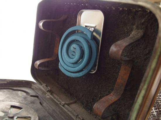 フランス 携帯用アンティークストーブ(ミニトランク型)