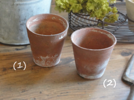 イギリスアンティーク テラコッタ製 植木鉢