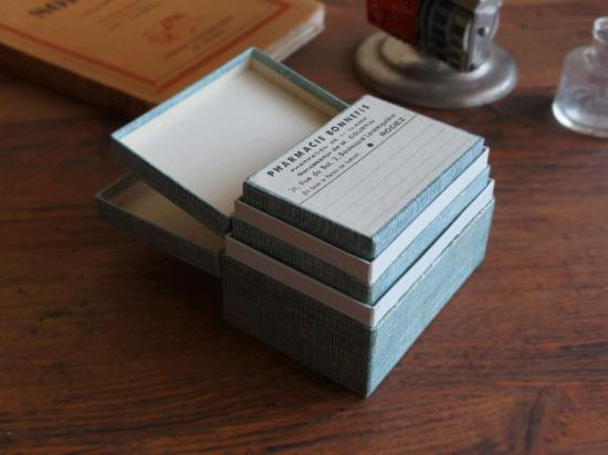 フランスアンティーク 薬の紙箱 3個セット