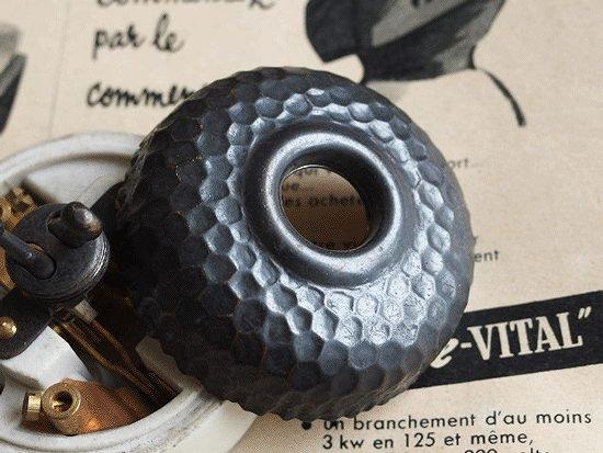 フランスアンティーク 黒のダブルスイッチ