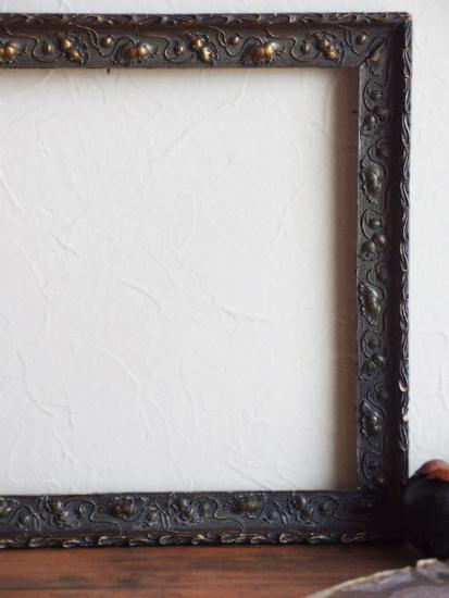 フランス 枯れた木製のアンティークフレーム