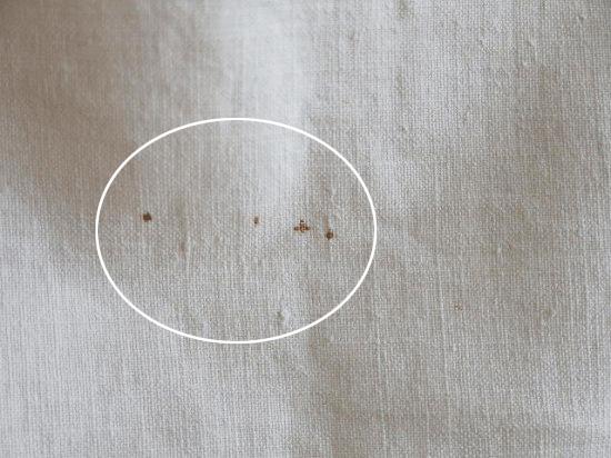 アンティークレースとコットンのカフェカーテン(カーテンクリップ付き)