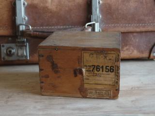 アンティーク  フランスの郵便用木箱