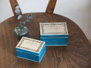 フランスアンティーク 薬の紙箱 2個セット