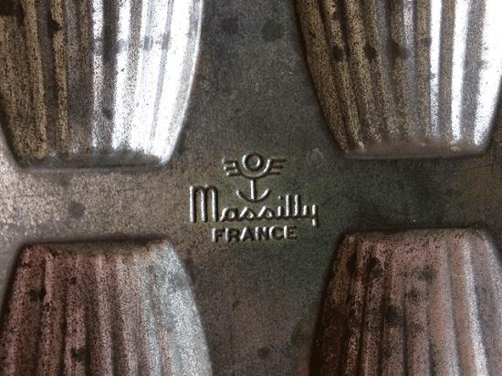 フランス Massilly社 アンティークのマドレーヌ型