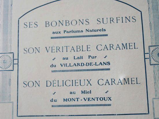 アンティーク お菓子屋の紙製バインダー