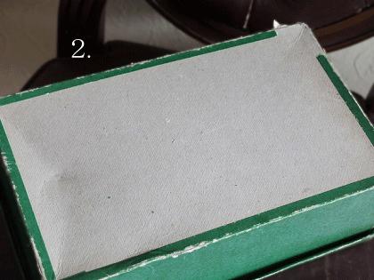 カルティエ・ブレッソン アンティーク紙製の糸箱(2)