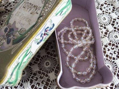 L.T PIVER FLORAMYE 香水瓶のアンティーク箱