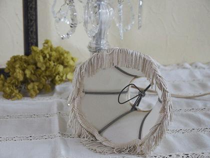 フランスアンティーク テーブルランプ シャンデリア