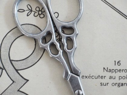 フランス 手芸用アンティークハサミ6本セット