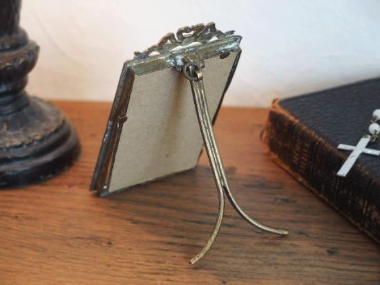 リボンのアンティークフレーム(ホーリーカード付き)