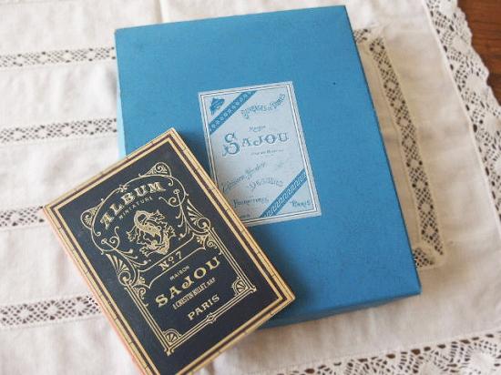 SAJOU(サジュー) 刺繍アルバムとクロスステッチ図案のセット
