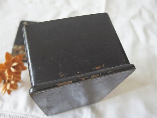 フランスアンティーク パピエマシェの小箱(シノワズリ)