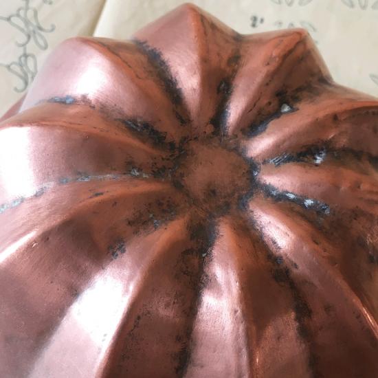 フランスアンティーク コッパーモールド ケーキ型
