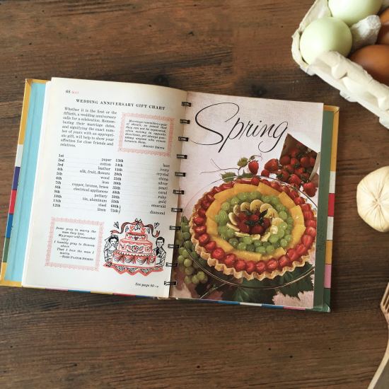 ヴィンテージ本 Betty Crocker's COOKING CALENDAR
