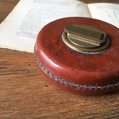 フランス製古道具 アンティークメジャー(巻尺)