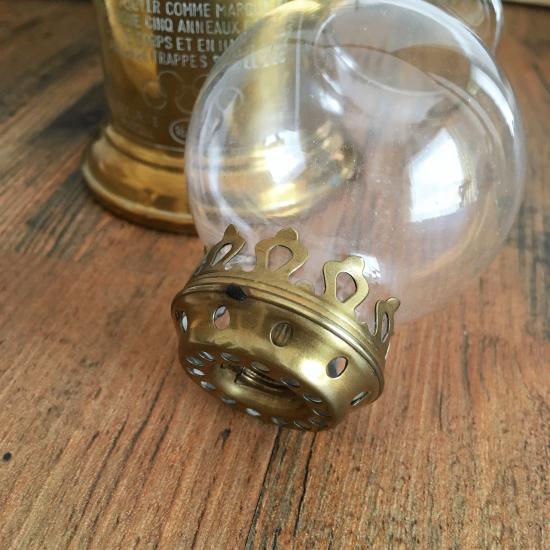 フランスアンティーク ピジョンランプ LAMPE-OLYMPE