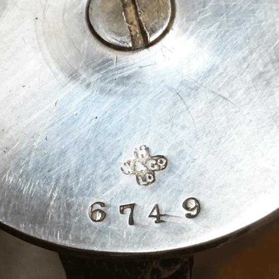 イギリスアンティーク 白鳥のカードホルダー(シルバープレート製 )