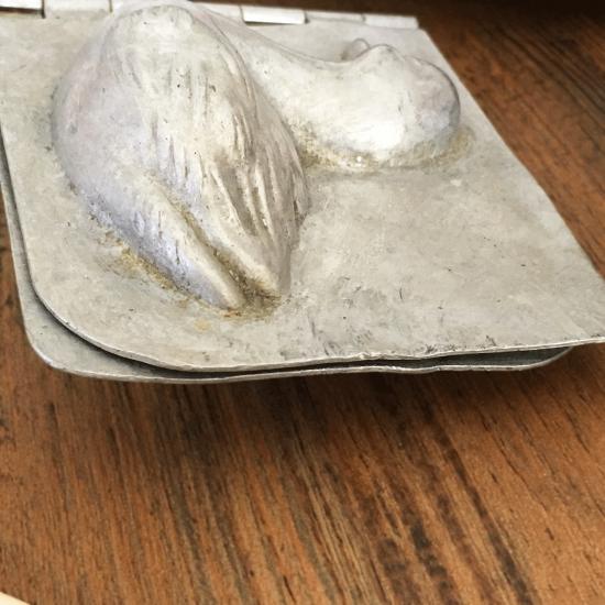 イギリスアンティーク アヒルのチョコレートモールド