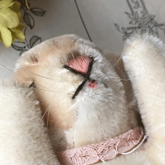 ヴィンテージシュタイフ 眠りうさぎ フロッピーハンズィ(Floppy Hansi)