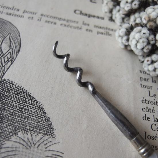 ヴィクトリアン マザーオブパール 香水瓶のコルクスクリュー