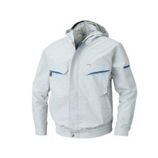 【空調服のみ】サンエス空調風神服KU90480フード付長袖ブルゾン