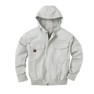 【空調服のみ】サンエス空調風神服KU91410フード付長袖ブルゾン