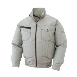 【空調服のみ】サンエス空調風神服KU91600ヘリンボーン長袖ブルゾン