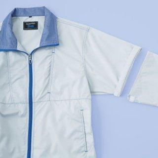 【空調服のみ】サンエス空調風神服KU91620袖取り外し長袖ブルゾン