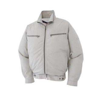 【空調服のみ】サンエス空調風神服KU93600グレンチェック長袖ブルゾン